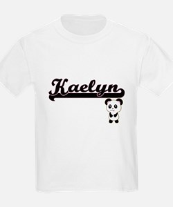 Kaelyn Classic Retro Name Design with Pand T-Shirt
