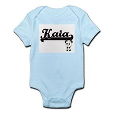 Kaia Classic Retro Name Design with Pand Body Suit