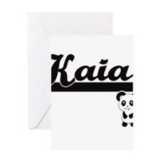 Kaia Classic Retro Name Design with Greeting Cards