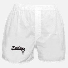 Kailey Classic Retro Name Design with Boxer Shorts
