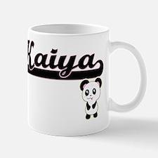 Kaiya Classic Retro Name Design with Pa Mug