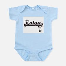 Kaiya Classic Retro Name Design with Pan Body Suit