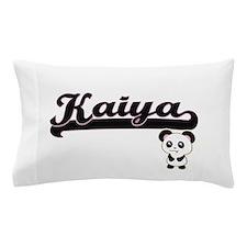 Kaiya Classic Retro Name Design with P Pillow Case