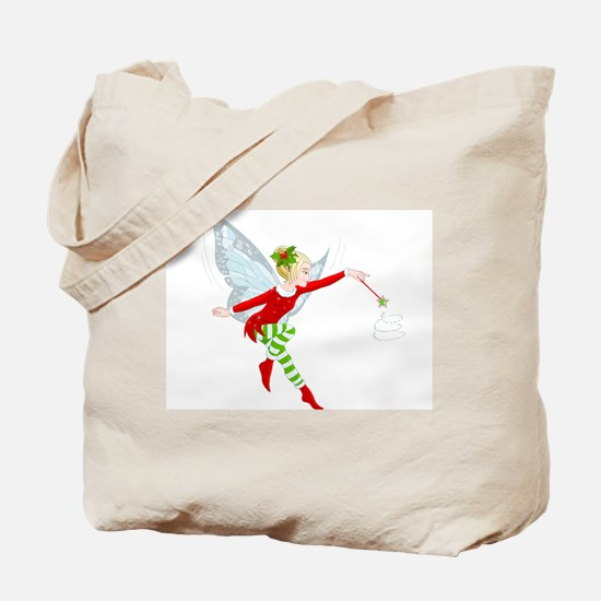 Holiday Fairy Tote Bag