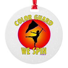 Color Guard - We Spin Ornament