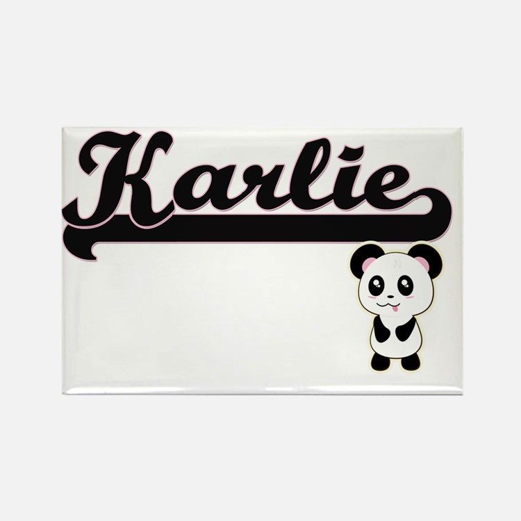 Karlie Classic Retro Name Design with Pand Magnets