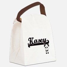Kasey Classic Retro Name Design w Canvas Lunch Bag