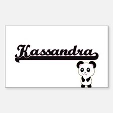 Kassandra Classic Retro Name Design with P Decal