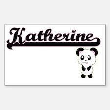 Katherine Classic Retro Name Design with P Decal