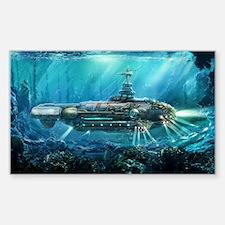 Steampunk Submarine Decal