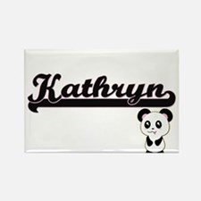 Kathryn Classic Retro Name Design with Pan Magnets