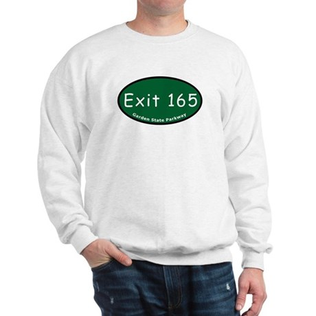 Exit 165 - East Ridgewood Av Sweatshirt