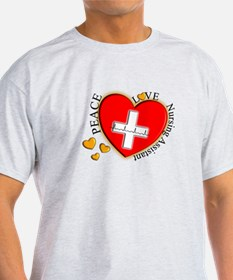 Nursing Assistant Heart T-Shirt