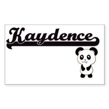 Kaydence Classic Retro Name Design with Pa Decal