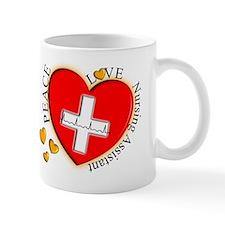 Nursing Assistant Heart Mug