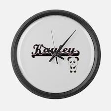 Kayley Classic Retro Name Design Large Wall Clock
