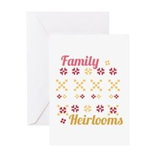 Family Heirlooms Greeting Cards