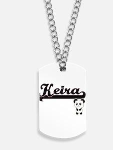 Keira Classic Retro Name Design with Pand Dog Tags