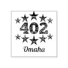 Vintage 402 Omaha Sticker