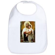 Mary, Mother of God Baby Bib
