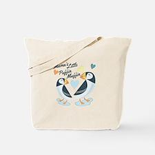 Puffer Muffin Tote Bag