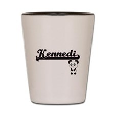 Kennedi Classic Retro Name Design with Shot Glass