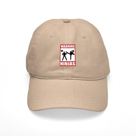 Warning: Ninjas Cap