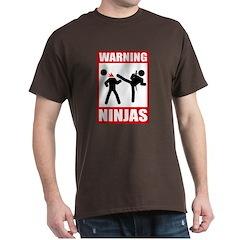 Warning: Ninjas T-Shirt