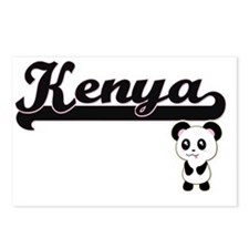 Kenya Classic Retro Name Postcards (Package of 8)