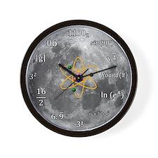 Sheldon Cooper Maths Moon Clock Wall Clock