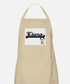 Kiara Classic Retro Name Design with Panda Apron