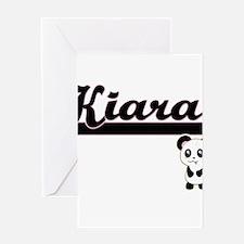 Kiara Classic Retro Name Design wit Greeting Cards