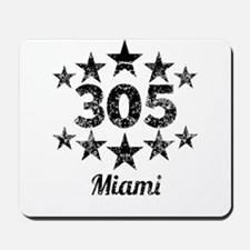 Vintage 305 Miami Mousepad