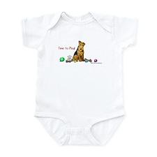 Welsh Terrier Playtime! Infant Bodysuit