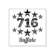 Vintage 716 Buffalo Sticker