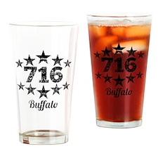 Vintage 716 Buffalo Drinking Glass