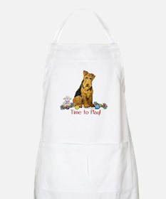Welsh Terrier Playtime! BBQ Apron