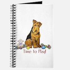 Welsh Terrier Playtime! Journal