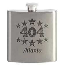 Vintage 404 Atlanta Flask