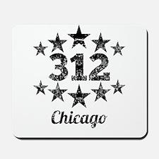 Vintage 312 Chicago Mousepad