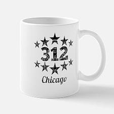 Vintage 312 Chicago Mugs