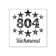 Vintage 804 Richmond Sticker