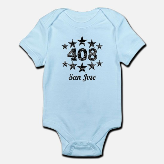 Vintage 408 San Jose Body Suit