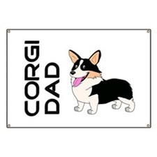 Corgi Dad Banner