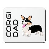 Corgi father 27s day Mouse Pads