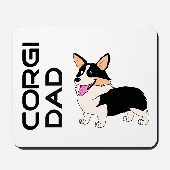 Corgi Dad Mousepad