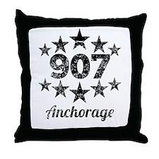 Vintage 907 Anchorage Throw Pillow