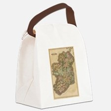 Vintage Map of Ireland (1831) Canvas Lunch Bag
