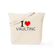 I Love Vaulting Tote Bag
