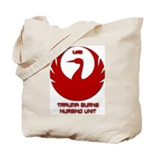 Cute Burn nurse Tote Bag